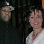 Brenda and Denzel Washington