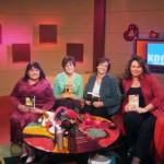 Regan Taylor, Me, Allison Brennan and Karin Tabke