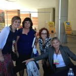 Erica Spindler, Catherine Coulter and a fan at the Tucson Festival of Books