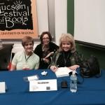 Brenda, Iris Johansen and Erica Spindler at the 2015 Tucson Festival of Books