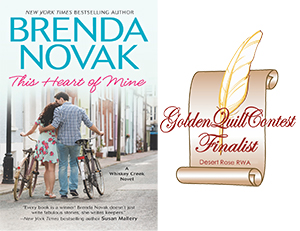 2016 Golden Quill Contest Contemporary Romance Finalist
