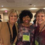 Brenda, Shirley Hailstock and Susan Elizabeth Phillips at the 2016 Barbara Vey Reader Appreciation Weekend