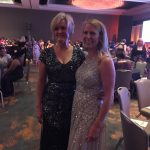 Becky Wade and I celebrate the Ritas at RWA 2016 (we were both nominated)