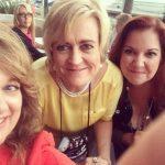 Nancy Naigle and Tiffany Snow help me celebrate at the Montlake Party at RWA 2016