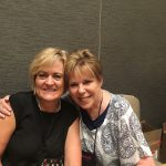 The lovely Robyn Carr and I signing together at the Harlequin signing at RWA 2016
