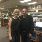 Brenda and UK author Peter James