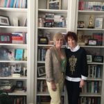 Sandra Brown and I at her office in Arlington, TX