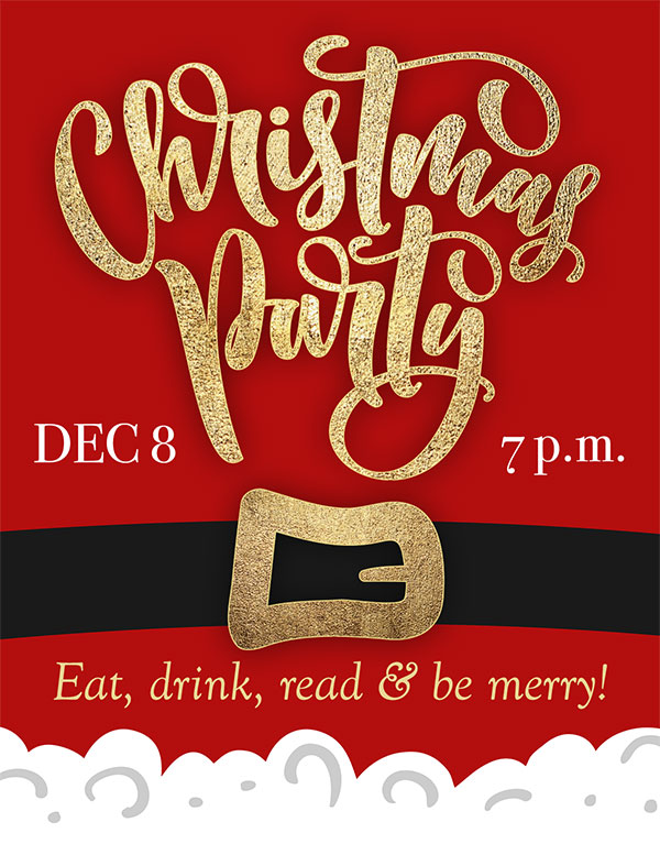 You're invited to my Christmas Party!
