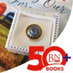 Brenda Novak 50+ Commemorative Pin