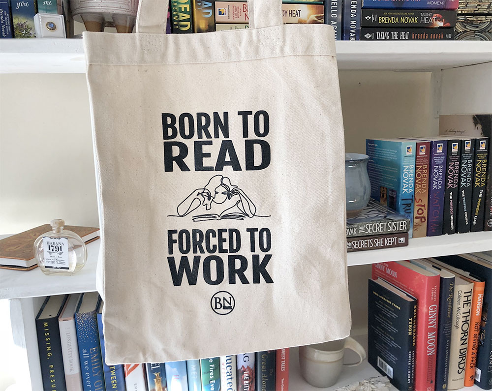 Born to Read - Forced to Work Tote Bag