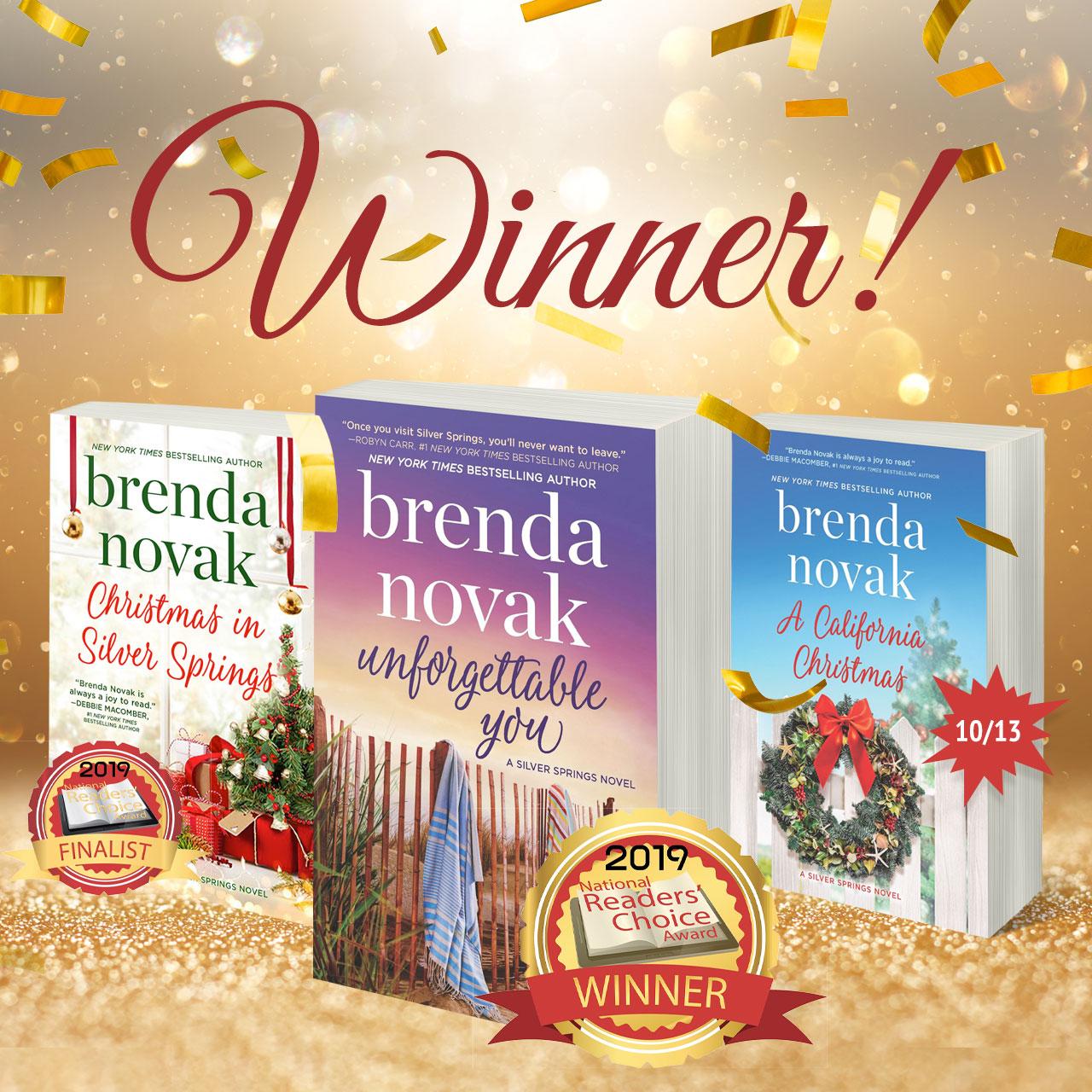 National Readers' Choice Award Winner!