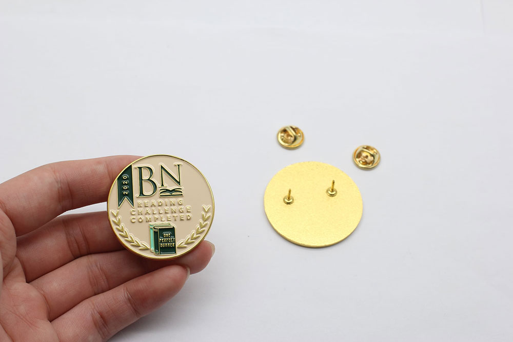 BN Reading Challenge Pin