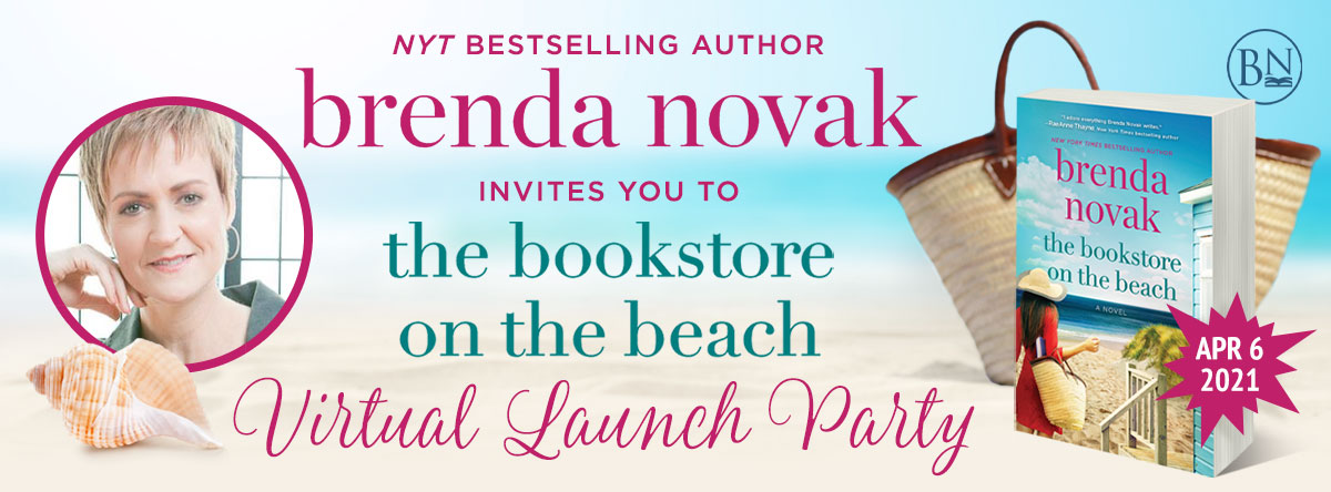 THE BOOKSTORE ON THE BEACH Virtual Launch Party