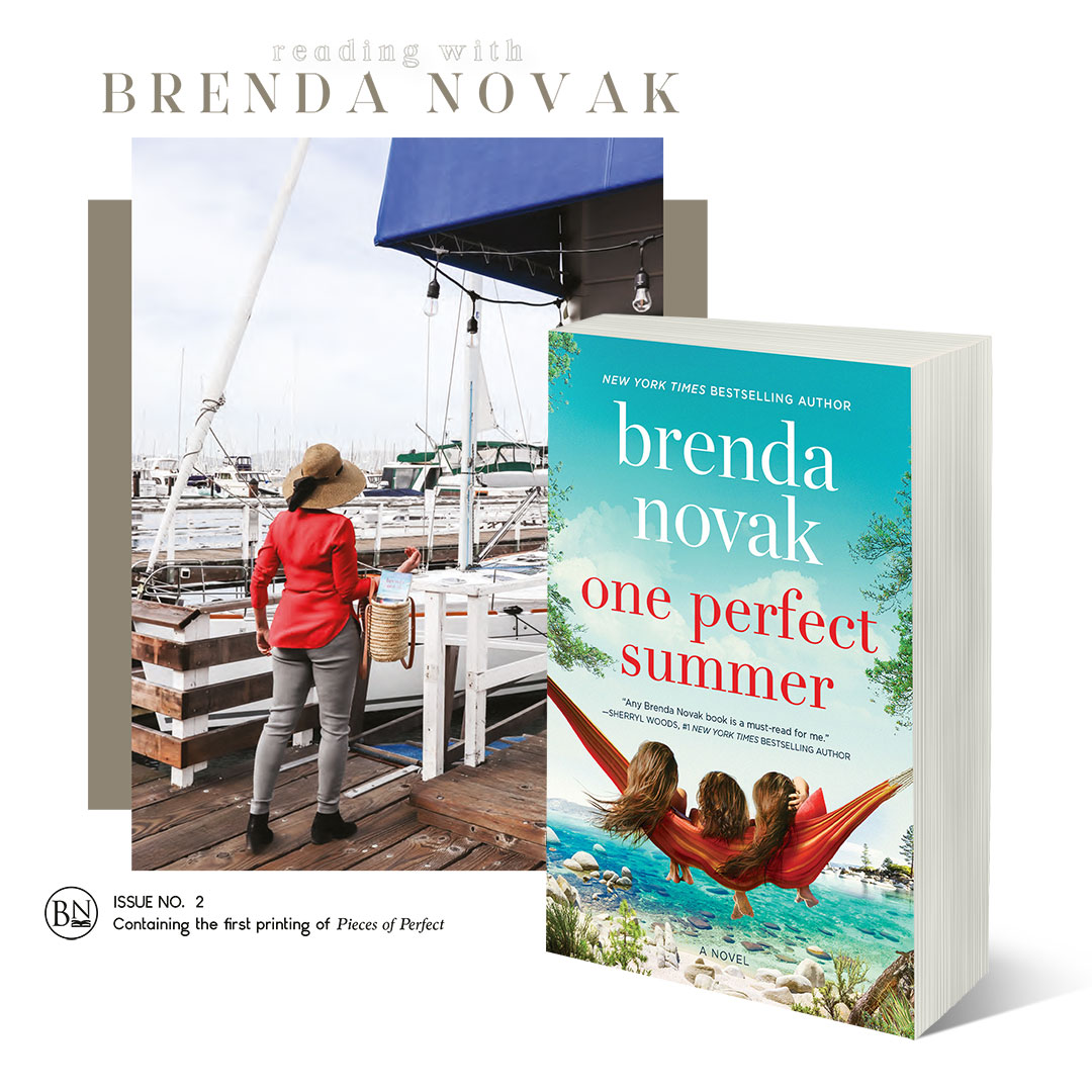 Reading with Brenda Novak Magazine Issue No.2 & One Perfect Summer